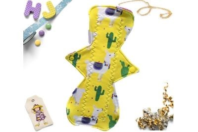 Click to order  Single Cloth Pad No Drama Llama now
